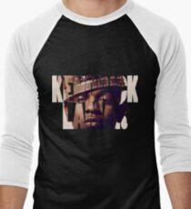 "Kendrick Lamar ""King"" Design Men's Baseball ¾ T-Shirt"