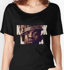 """Kendrick Lamar """"King"""" Design Women's Relaxed Fit T-Shirt"""