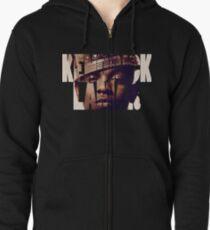 "Kendrick Lamar ""King"" Design Zipped Hoodie"