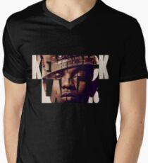 "Kendrick Lamar ""King"" Design Men's V-Neck T-Shirt"