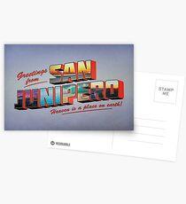 san junipero Postcards