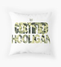 Certified Hooligan(TCH CLOTHING) Throw Pillow