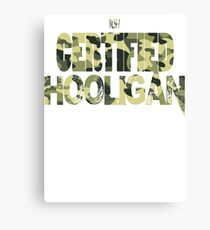 Certified Hooligan(TCH CLOTHING) Canvas Print