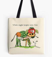 Veggie Burgers Tote Bag