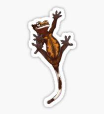 Climbing Crestie - Dark Brown Sticker