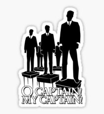 O Captain! My Captain! Sticker
