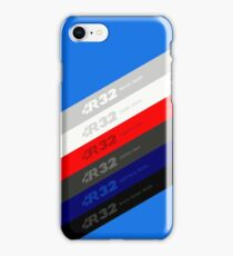 R32 VW Golf Colors iPhone Case/Skin