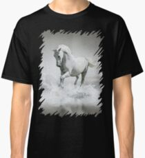 Horse - Oil Paint Art Classic T-Shirt