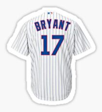 Chicago Cubs Bryant Jersey  Sticker