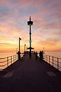 Brighton Jetty Sunset by Ray Warren
