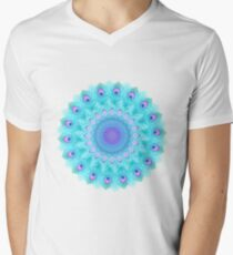 Peacock feathers mandala T-Shirt
