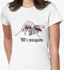 '80s Mosquito Women's Fitted T-Shirt
