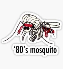 '80s Mosquito Sticker