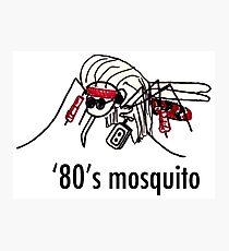 '80s Mosquito Photographic Print