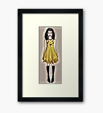 comicon cathy - animation fan Framed Print
