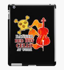 Red Hot Cello iPad Case/Skin