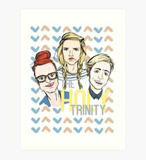 The Holy Trinity Art Print