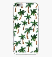 Palm Tree Print iPhone Case