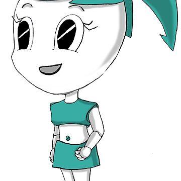 Teenage Robot Chibi by JoyCook