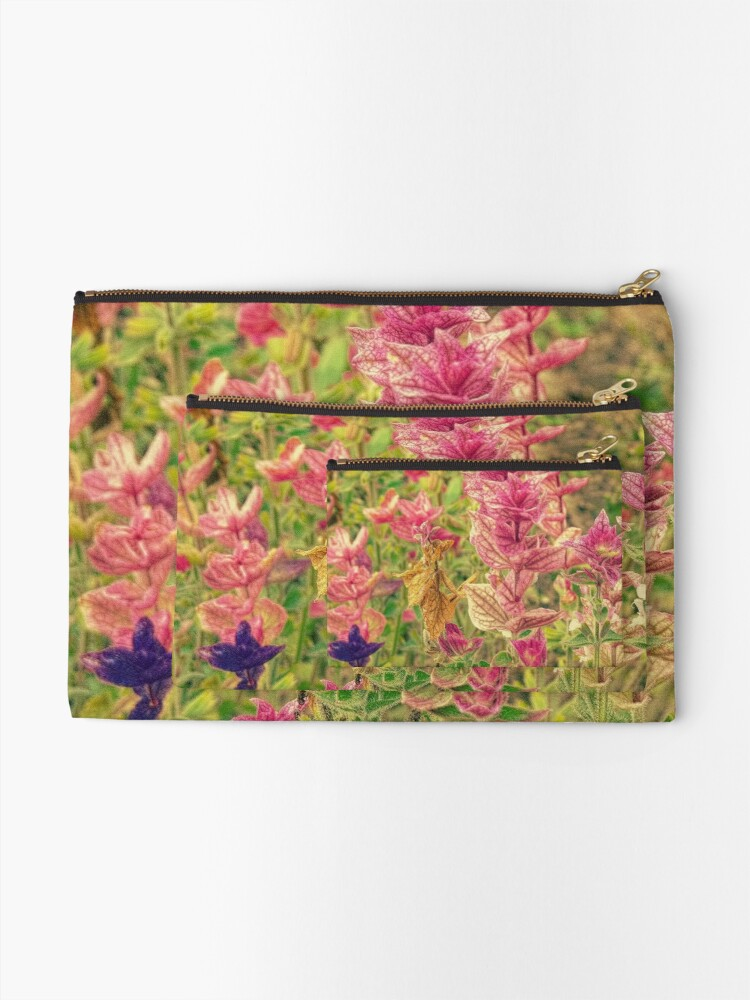 Alternate view of Floral Zipper Pouch