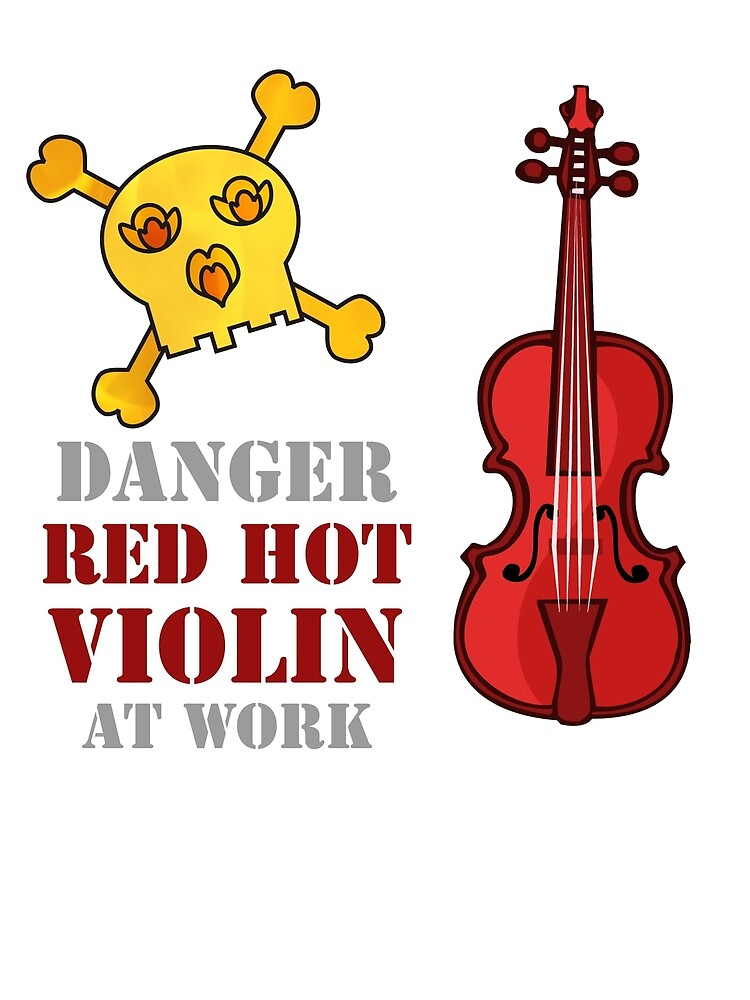 Red Hot Violin by evisionarts