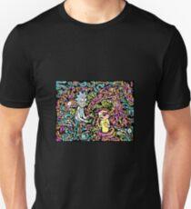 Trippy Snake Stuff - Rick and Morty Unisex T-Shirt