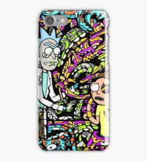 Trippy Snake Stuff - Rick and Morty iPhone Case/Skin