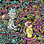 Trippy Snake Stuff - Rick and Morty by cvx-official