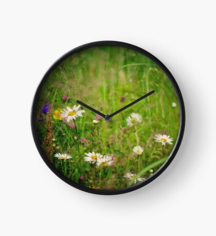 Floral nature Clock