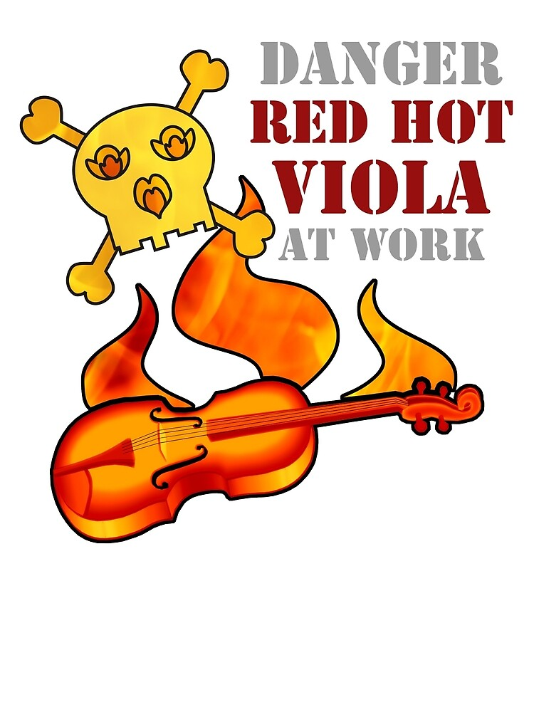 Red Hot Viola by evisionarts