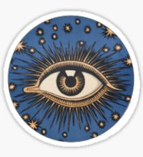 Eye. Sticker