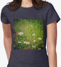 Floral nature Women's Fitted T-Shirt