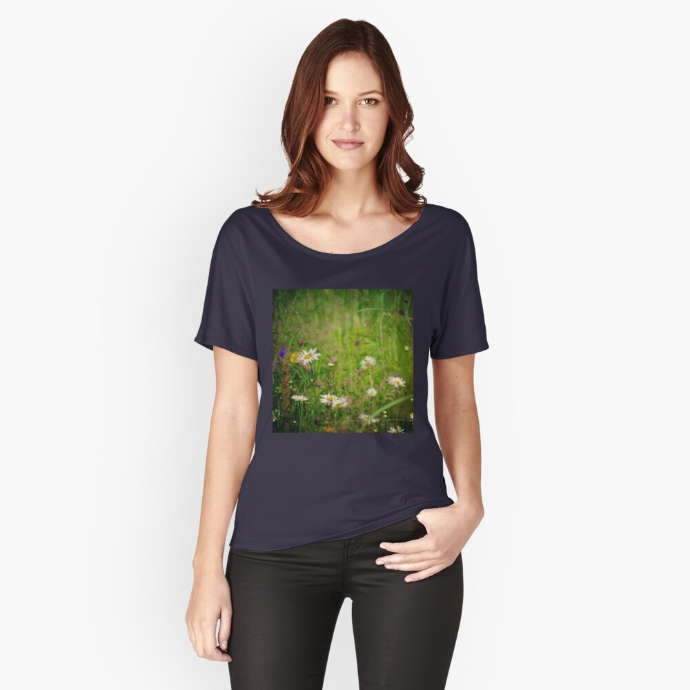 Floral nature Women's Relaxed Fit T-Shirt Front