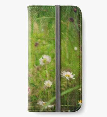 Floral nature iPhone Wallet