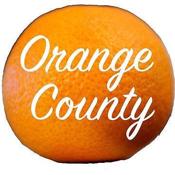 Orange County Cut Out Clementine by heby73