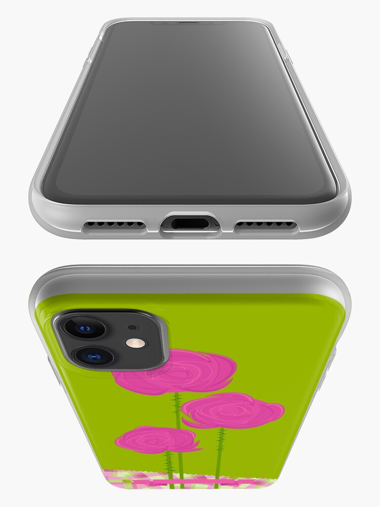 Alternate view of Pink Roses iPhone Case & Cover
