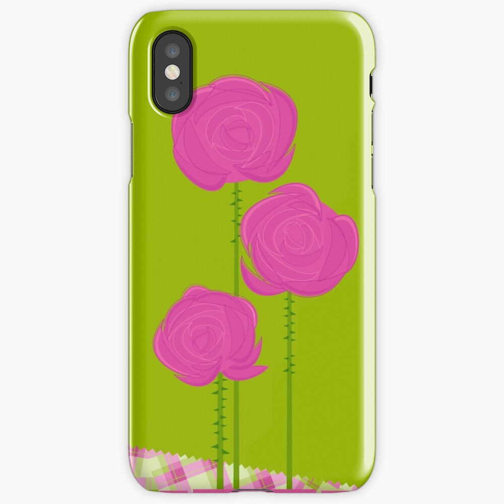 Pink Roses iPhone Case & Cover