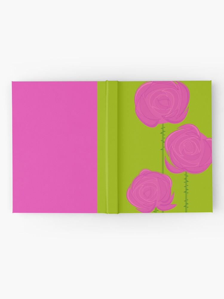 Alternate view of Pink Roses Hardcover Journal