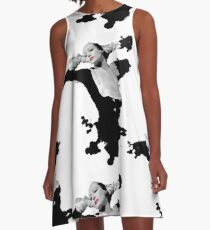 Crawford Splot  A-Line Dress