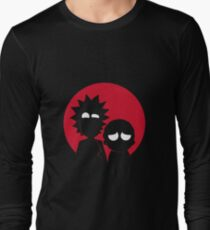 Minimalist Characters - Rick and Morty T-Shirt