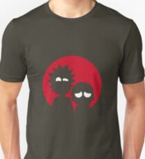 Minimalist Characters - Rick and Morty Unisex T-Shirt