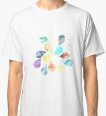 Watercolor Water Drops Classic T-Shirt