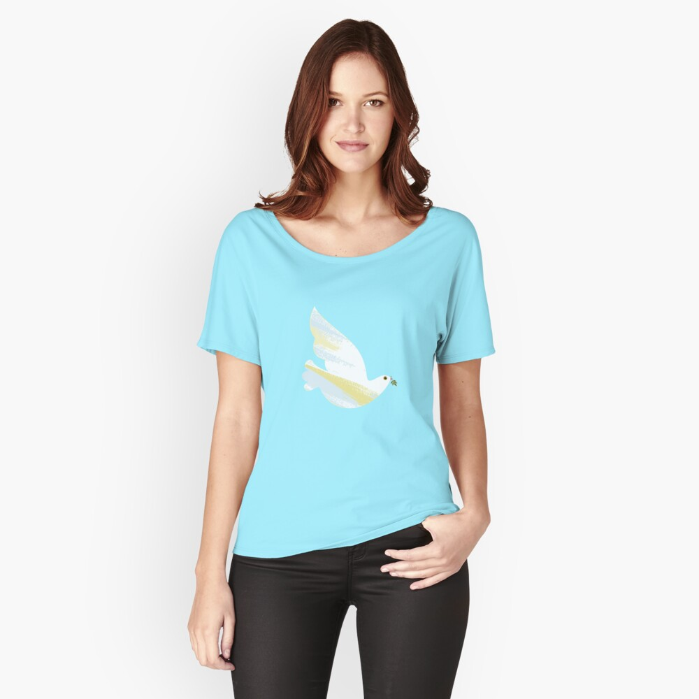 Christmas Dove Relaxed Fit T-Shirt