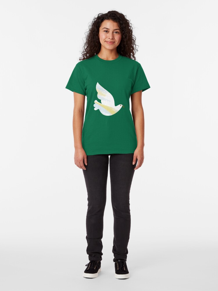 Alternate view of Christmas Dove Classic T-Shirt