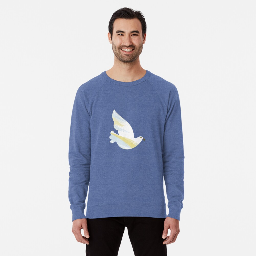 Christmas Dove Lightweight Sweatshirt
