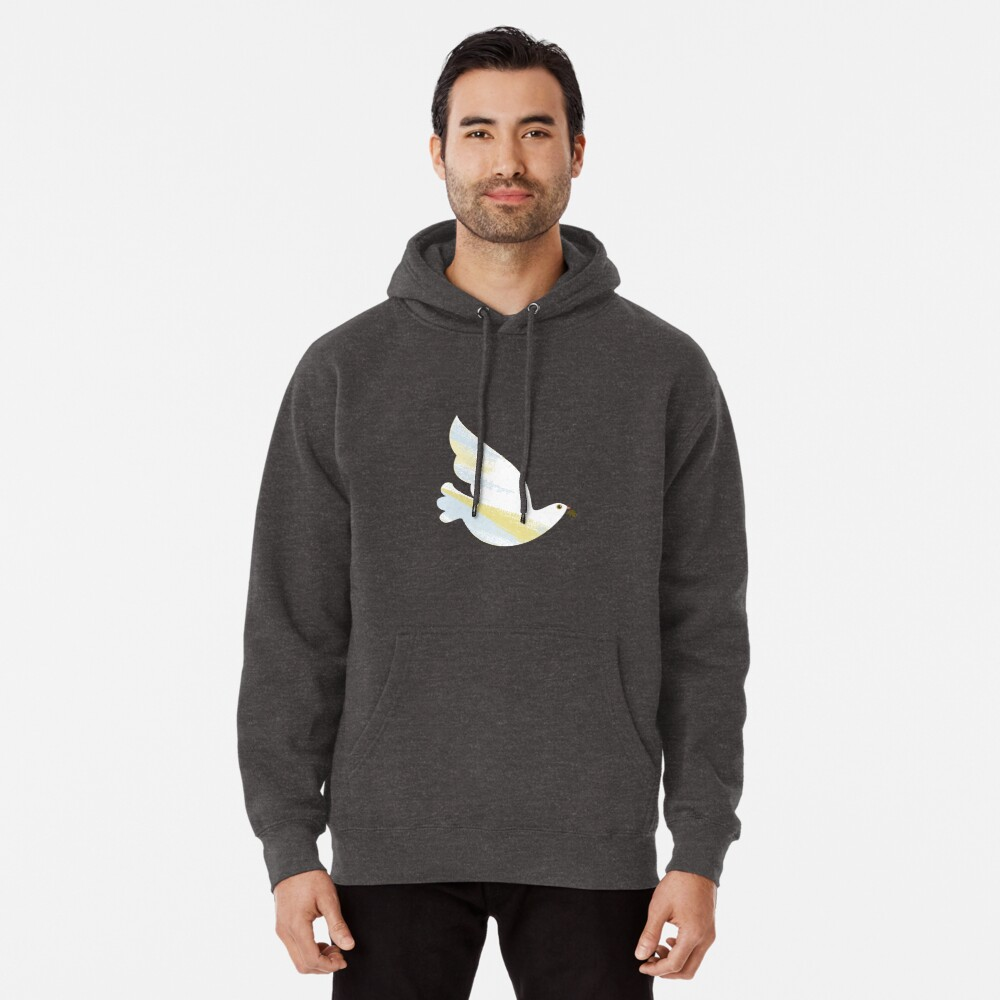 Christmas Dove Pullover Hoodie