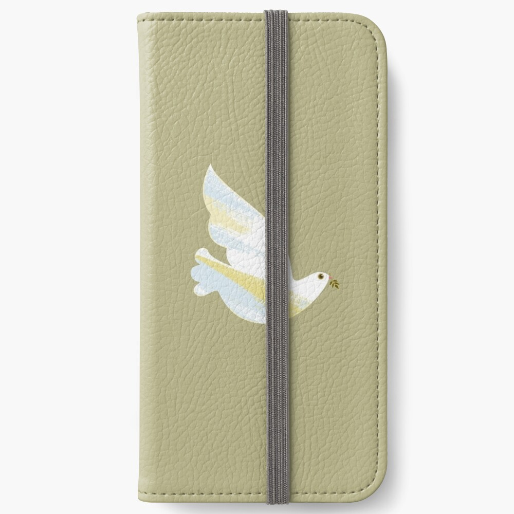 Christmas Dove iPhone Wallet