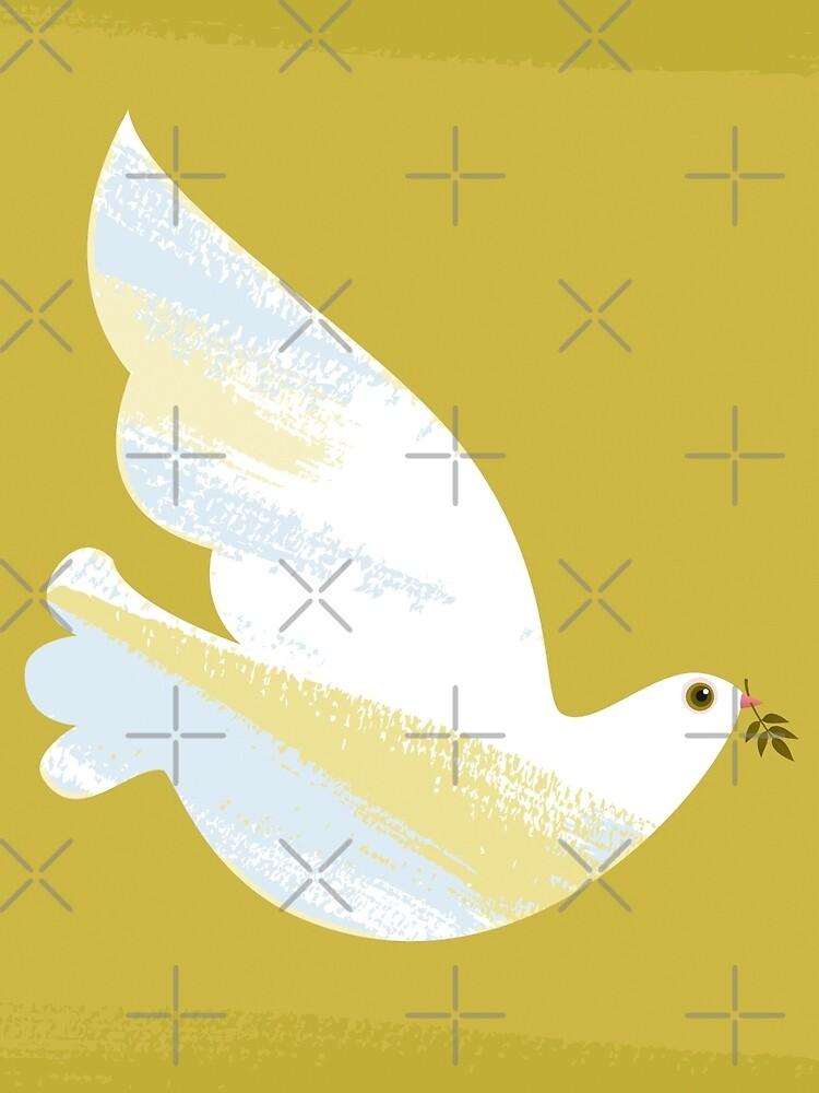Christmas Dove by rusanovska
