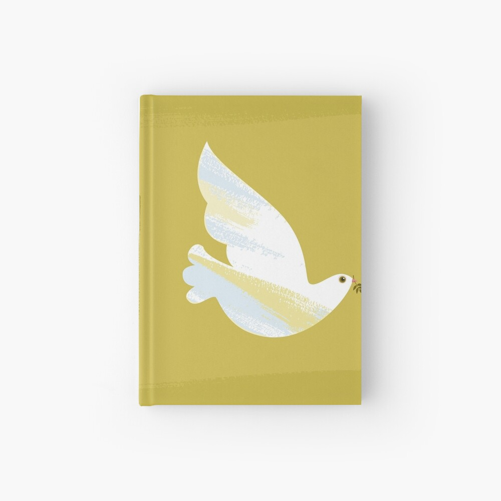 Christmas Dove Hardcover Journal