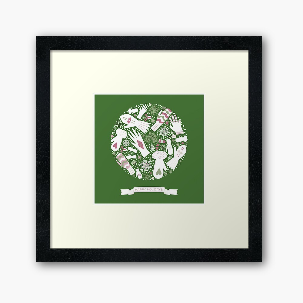 Warm Winter Framed Art Print